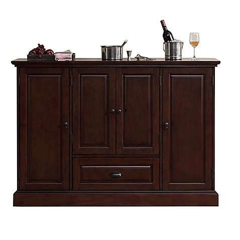 american heritage carlotta wine cabinet bed bath beyond. Black Bedroom Furniture Sets. Home Design Ideas