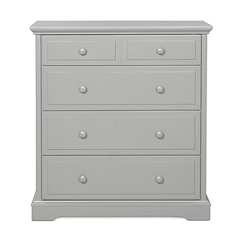 Child Craft Coventry Nursery Furniture Collection In Cool Grey Child Craft 4 Drawer Chest In