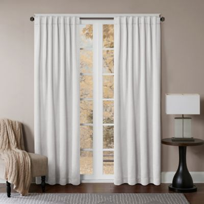 Princeton Rod Pocket Back Tab Window Curtain Panel Bed