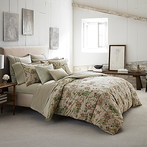 ED Ellen DeGeneres Montecito Comforter in Khaki at Bed Bath & Beyond in Cypress, TX | Tuggl