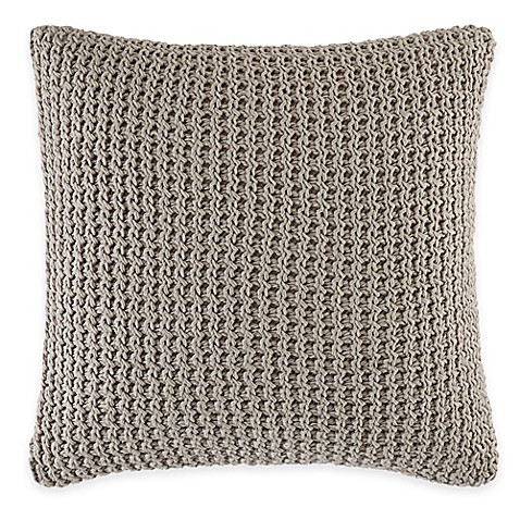 ED Ellen DeGeneres Mosaic Tile Square Throw Pillow in Stone at Bed Bath & Beyond in Cypress, TX | Tuggl