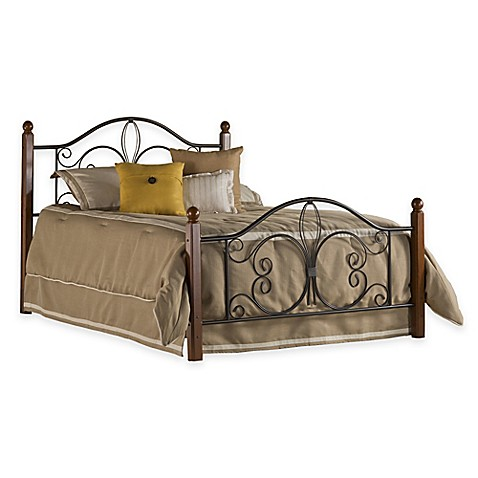 Buy Hillsdale Milwaukee King Bed With Rails In Black Cherry From Bed Bath Beyond