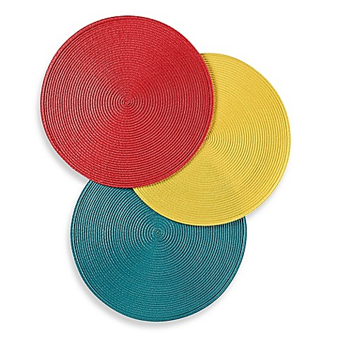 Round Placemat by Bed Bath And Beyond