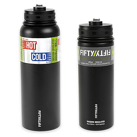 Fifty Fifty Double Wall Vacuum Insulated Water Bottle