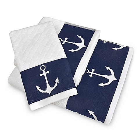 Lamont Home® Anchors Away Bath Towel Collection at Bed Bath & Beyond in Cypress, TX | Tuggl