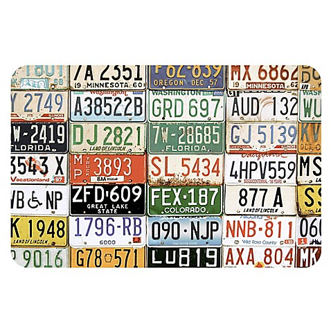 The Softer Side Of Weather Guard License Plates Kitchen