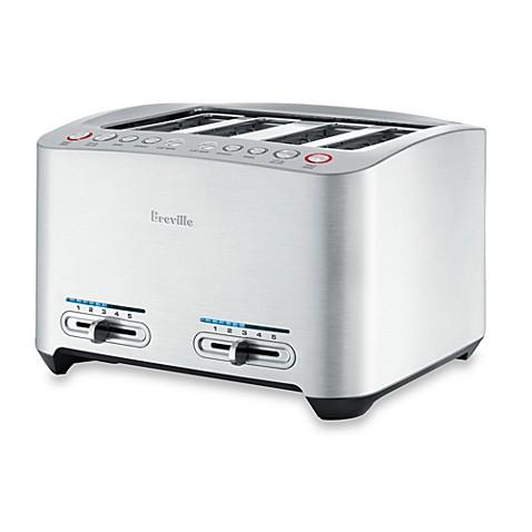 breville die cast 4 slice smart toaster bed bath beyond. Black Bedroom Furniture Sets. Home Design Ideas