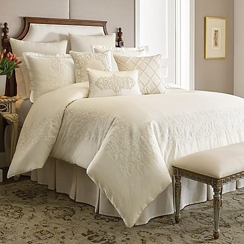 Buy Croscill Couture 174 Hepburn Queen Comforter Set In Ivory