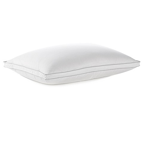 Wamsutta® Dream Zone® White Goose Down Back Sleeper Pillow in White at Bed Bath & Beyond in Cypress, TX | Tuggl