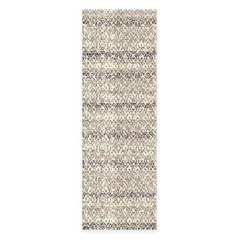 Feizy Settat Distressed Rug In Grey Cream Bed Bath Amp Beyond