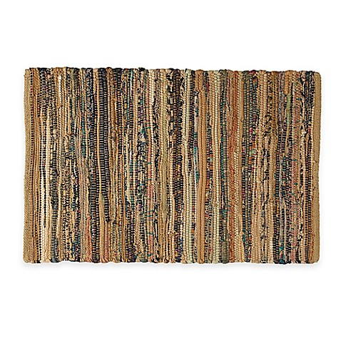 Buy Chindi 2 Foot X 3 Foot Hand Woven Kitchen Rug In Taupe