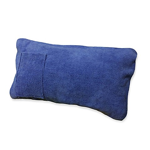 buy boca chaise lounge throw pillow in blue from bed bath