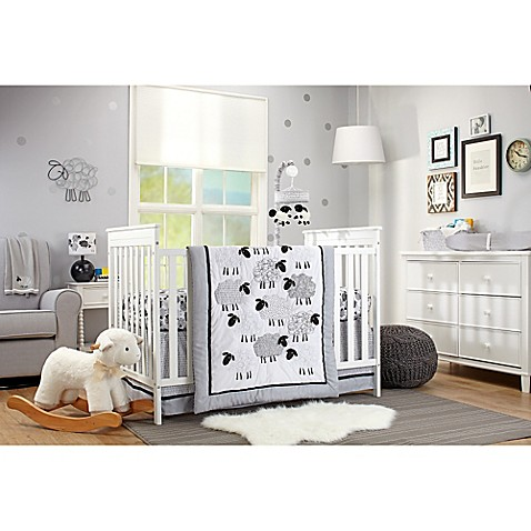 Nojo 174 Good Night Sheep Crib Bedding Collection Buybuy Baby