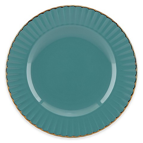 Marchesa by Lenox® Shades of Teal Accent Plate | Tuggl