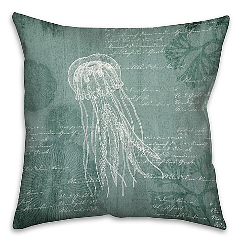 Buy Big Jelly 18-Inch Square Throw Pillow from Bed Bath & Beyond