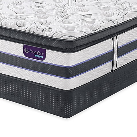 Serta® iComfort® HYBRID HB700Q SmartSupport™ Super Pillow Top Mattress Set at Bed Bath & Beyond in Cypress, TX | Tuggl