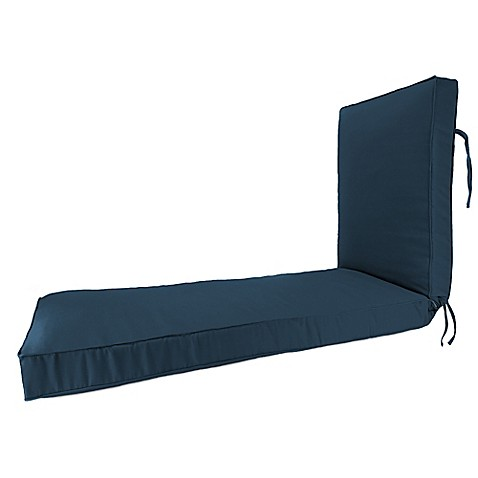 Buy 80 inch x 23 inch chaise lounge cushion in sunbrella for Buy chaise lounge cushion