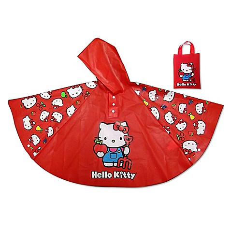 Buy Hello Kitty Rain Poncho in Red from Bed Bath & Beyond