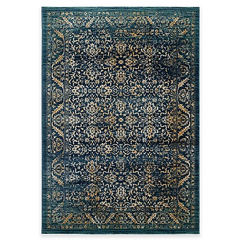 Safavieh Evoke Omid Area Rug In Navy Gold Bed Bath Amp Beyond