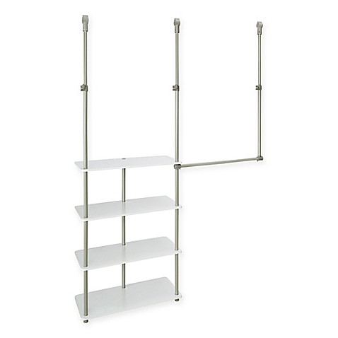 closetmaid 4 shelf closet maximizer bed bath beyond