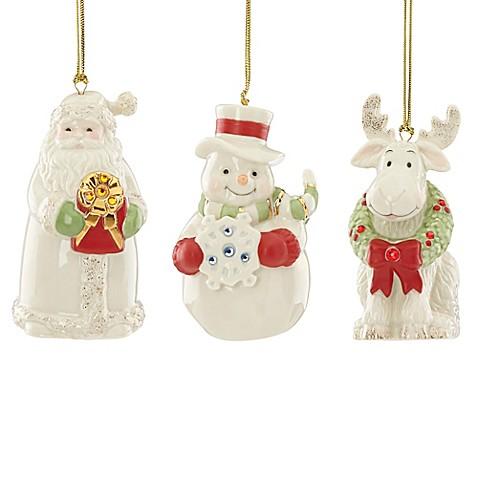 Lenox® Gemmed Christmas Ornaments (Set of 3) - Bed Bath & Beyond