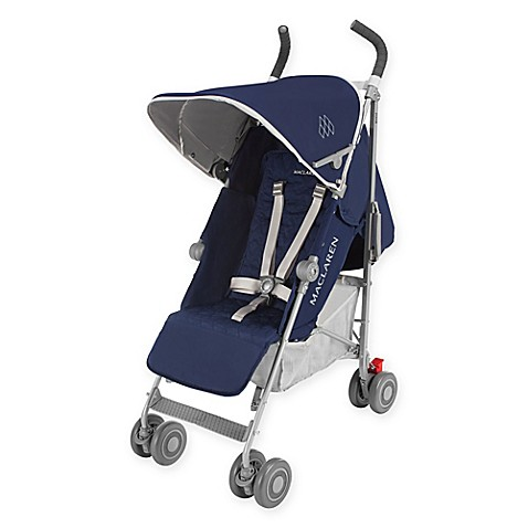 maclaren 2016 quest stroller in medieval blue silver buybuy baby. Black Bedroom Furniture Sets. Home Design Ideas