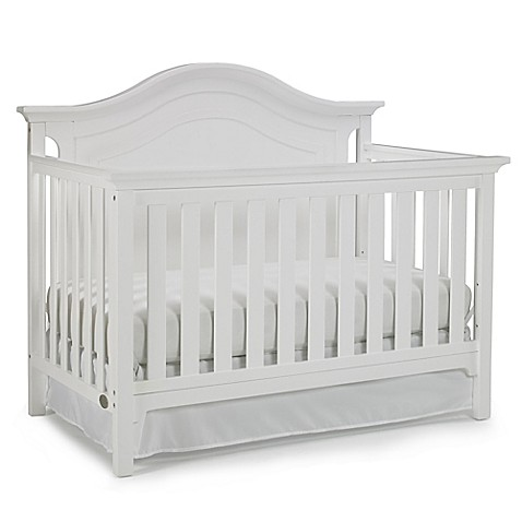 ti amo catania 4 in 1 convertible crib in snow white buybuy baby. Black Bedroom Furniture Sets. Home Design Ideas