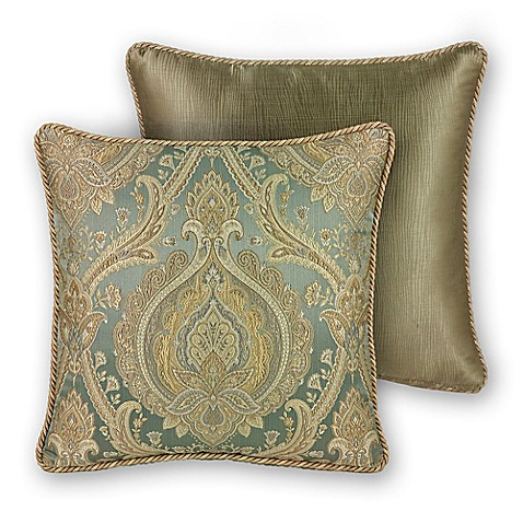 Buy Rose Tree Norwich Medallion Square Throw Pillow in Mushroom from Bed Bath & Beyond