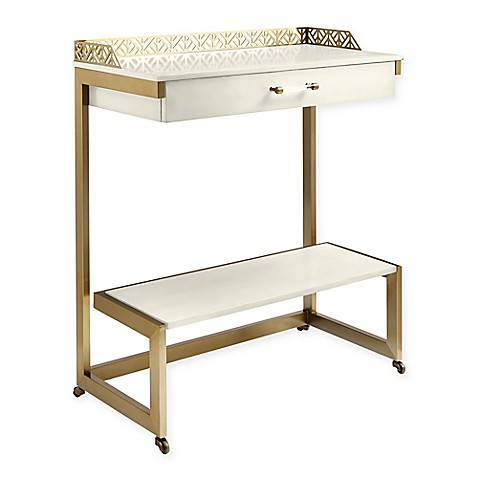Buy Stanley Furniture Catalina Wood Bar Cart In White From Bed Bath Beyond