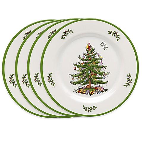 Spode Christmas Tree Melamine Dinner Plates Set Of 4 Bed Bath Beyond