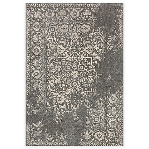 Buy Loloi Rugs Emory Distressed Damask 3 Foot 8 Inch X 5