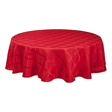 Buy Origins Holiday Tablecloth In Red From Bed Bath Amp Beyond