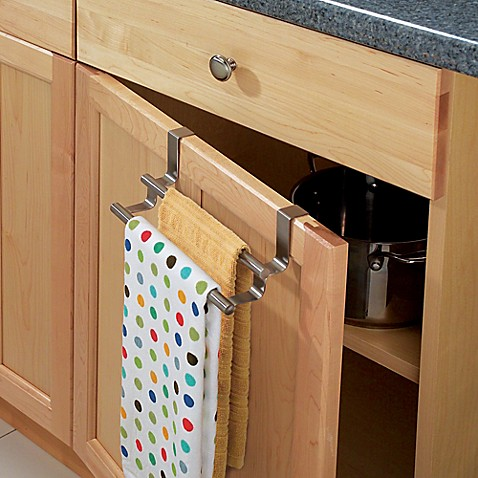InterDesign Forma Over The Cabinet Double Towel Bar Bed Bath Beyond