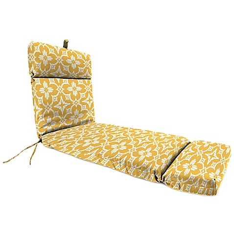 Buy outdoor chaise lounge cushion in aspidora soleil from for Buy chaise lounge cushion