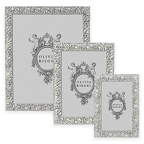 Olivia Riegel Eloise Picture Frame in Silver at Bed Bath & Beyond in Cypress, TX | Tuggl