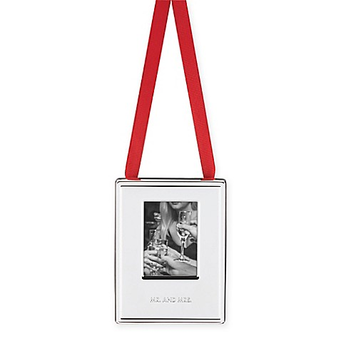Buy kate spade new york darling point frame mr and mrs for Bed bath and beyond kate spade