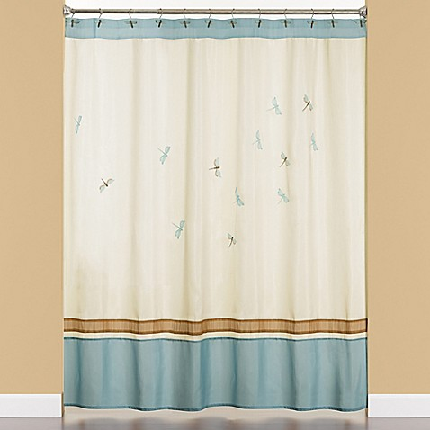 Jocelyn Shower Curtain In Blue Bed Bath Beyond