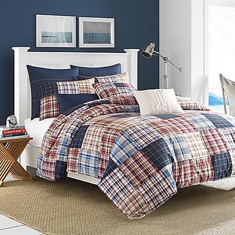 Nautica blaine comforter set in red bed bath beyond for Blaine storage
