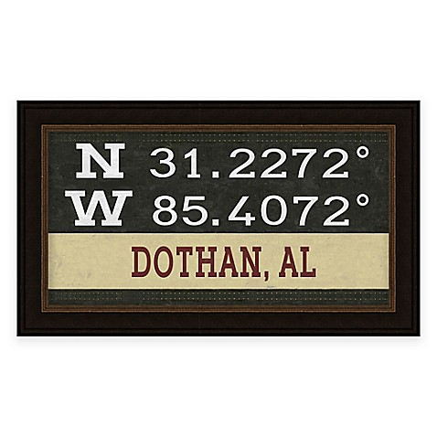 Dothan Coordinates Framed Wall Art Bed Bath Beyond