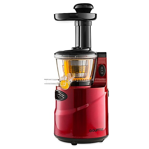 Gourmia Masticating GSJ200 Slow Juicer in Red - Bed Bath & Beyond