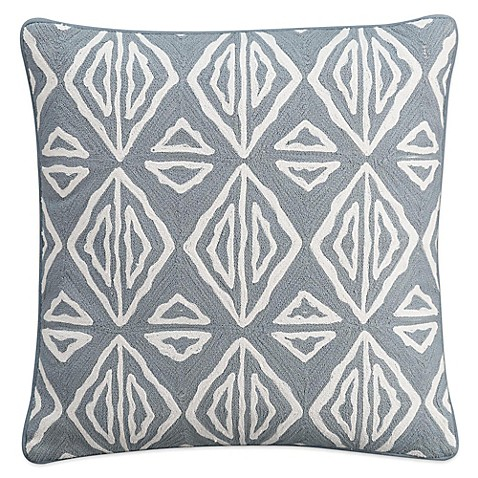 Cupcakes And Cashmere Moroccan Geo Square Throw Pillow In