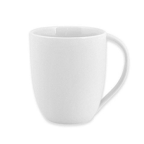 Artisanal Kitchen Supply® Curve Mug In White by Bed Bath And Beyond