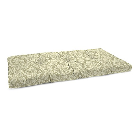 Buy Tufted Bench Cushion In White From Bed Bath Beyond