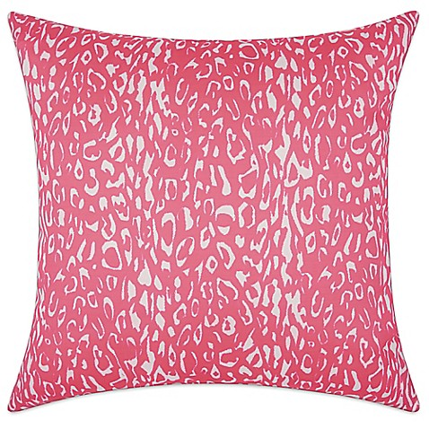 Hot Pink Outdoor Throw Pillows : Buy Mina Victory Leopard 20-Inch Square Outdoor Throw Pillow in Hot Pink from Bed Bath & Beyond