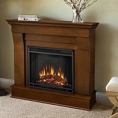 Real Flame Chateau Electric Fireplace Bed Bath Beyond