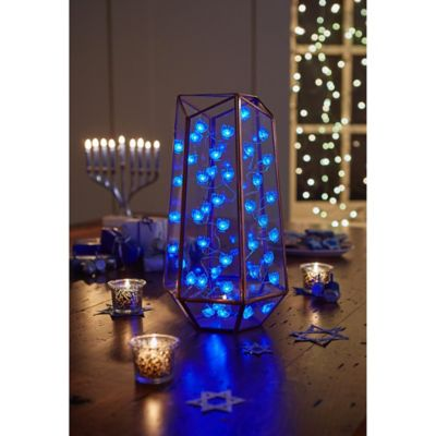 Loft Living 10-Foot LED Menorah String Light - Bed Bath & Beyond