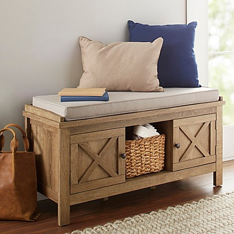 Chatham House Acadia Entryway Bench at Bed Bath & Beyond in Cypress, TX | Tuggl