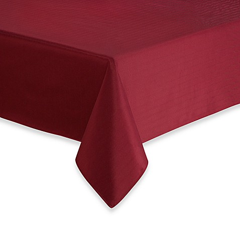 Windsor Stain Resistant Tablecloth Bed Bath Amp Beyond