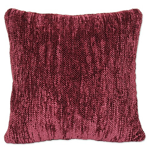 Outdoor Throw Pillows Kmart : Streamers Chenille Square Throw Pillow - Bed Bath & Beyond