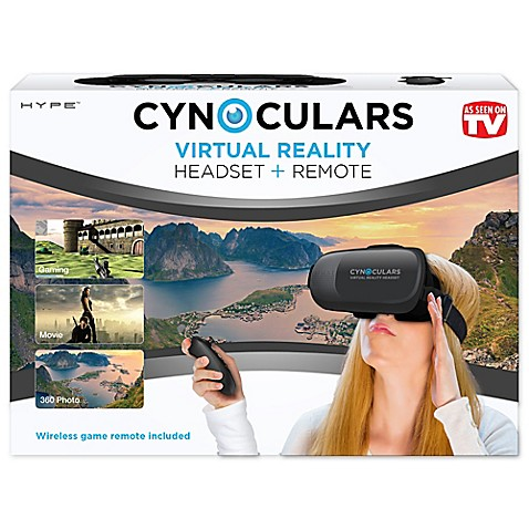Cynoculars Virtual Reality Headset And Remote Bed Bath Beyond